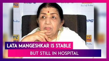 Lata Mangeshkar Health Update: The Singer Is Stable, Confirms Her Family